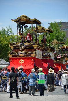 徳川園#Tokugawa-En#Nagoya #名古屋の山車祭り 名古屋市東区は江戸時代の侍屋敷と商人職人の 住んでいた街として栄えました。からくり人形の山車 が今でも町内に残っています。