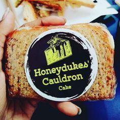 The honeydukes cauldron cake.... #harrypotter #madness
