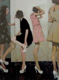 Girls wating