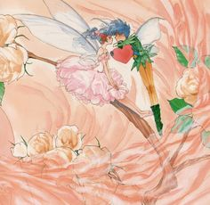 Old Anime, Close My Eyes, Love Drawings, Fairy Art, Vintage Art, Illustrators, Fantasy Art, Folk, Doodles
