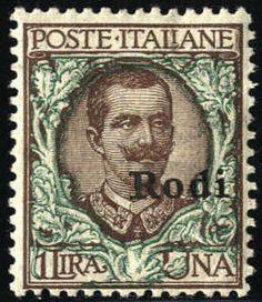 Aegean Islands 1912-22, Vittorio Emanuele III, serie completa per le 13 isole, in totale 146 valori (S. S90)  Lot condition *  Dealer Briefmarken Monster  ...