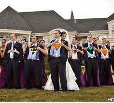 The ultimate, but subtle, nerd wedding.