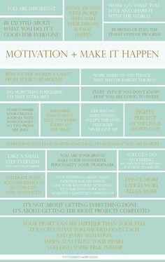 Motivation Inspiration by Christina Greve