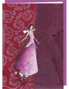 """Gaëlle Boissonnard carte double """"La corde à sauter"""""""