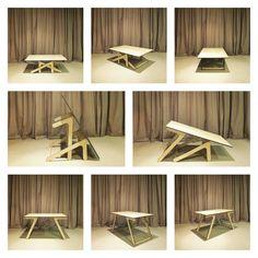 L'avete mai visto un #tavolino che si trasforma in un #tavolo da pranzo? Have you ever seen a #coffee table that transforms into a #dining table? #legnopan #coffetable #tavolino #diningtable #tavolodapranzo #homefurnishings #arredamento #interiordesign #architetto #architettura #designmilk #designlovers #wood #legno #style #stile #flipboard