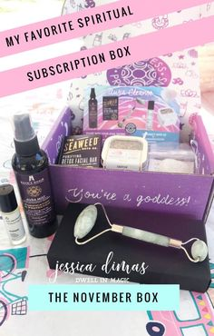 Goddess Provisions Subscription Box The thing I love most about subscription boxes is that they keep my collection of spiritual tools abundant and stocked. Goddess Provisions, Facial Bar, Monthly Subscription Boxes, Monthly Gift, Spiritual Awakening, Spiritual Meditation, Beauty Box, Beauty Trends, Law Of Attraction