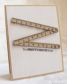 Way cute card created by @Tenia Nelson using the new You Rule! set.
