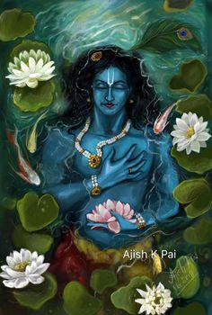Little Krishna, Baby Krishna, Cute Krishna, Radha Krishna Images, Lord Krishna Images, Krishna Art, Lord Shiva Painting, Krishna Painting, Easy Mandala Drawing
