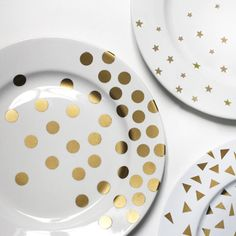 A Gold-Star Plate DIY for Your Awards Show Soiree! - Step 5 from #InStyle