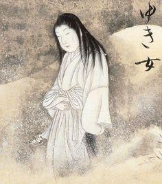 Japanese Folk Monster Yuki-onna