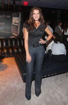 Brooke Shields Photos: U.S. Launch Party for The BlackBerry Tour Smartphone from Sprint