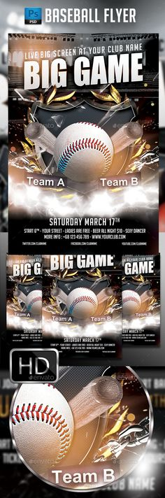 Baseball League Series Flyer Vol  Download Leagues And Advertising