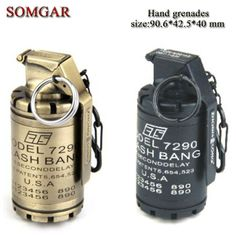 Creative military American soldiers CT5-M7290 flash hand grenade lighter