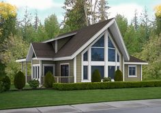 Home Award Winners Post & Beam Modern Homes Traditional Homes Retreats & Cottages Country Homes Prow & Cedar Homes Timber Frame & Log Estate Homes Small Cabins Residential Craftsman Ranchers Basement Entry Garages & Outbuilding House Plans - The Brockton 1 … Read More