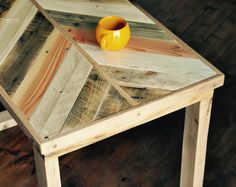 Reclaimed wood Desk Rustic Industrial Pallet Oak Table Pallet Office Desk Chevron Furniture Office Reclaimed Desk Oak Legs