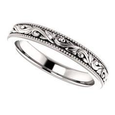 Bridal & Wedding Party Jewelry Jewelry & Watches Titanium Ridged Edge Black Enamel Braid Design 6mm Wedding Ring Band Size 11.00