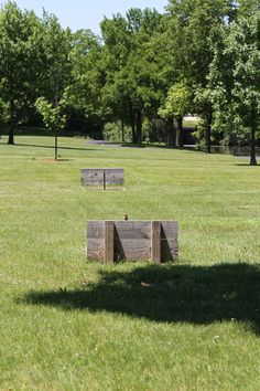 The Oak Brook Park District has FREE horseshoe pits located right behind the basketball courts by Central Park West. Bring your own horseshoes and give this old game a new chance!