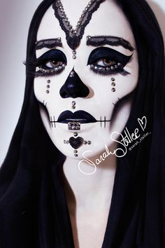 Day of the Dead Makeup | Sarah Steller