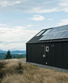 It'd be cool to check out some eco-friendly homes. Island home with panoramic views and solar panels.