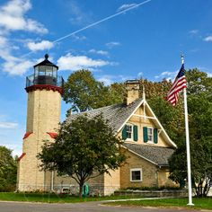 McGulpin Point Lighthouse, Mackinaw City, MI | Flickr - Photo Sharing!