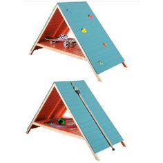 cabane mur d'escalade DIY                                                                                                                                                                                 Plus