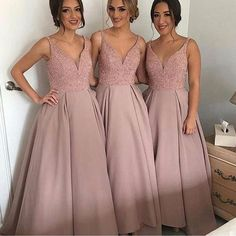 Gorgeous Pretty New Arrival Off Shoulder V-Neck Sparkly Long Bridesmaid Ball Gown, WG69 The long bridesmaid dresses are fully lined, 4 bones in the bodice, chest pad in the bust, lace up back or zipper back are all available, total 126 colors are available.This dress could be custom made, there are no extra cost to do custom size and color.Description1, Material: satin, sequin, beads, tulle, pongee.2, Color: picture color or other colors, there are 126 colors are available, please contact us…