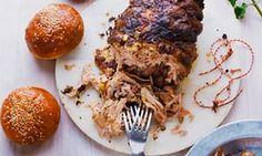 Barbecuey pork butt
