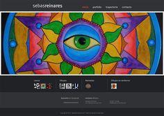 Sitio web personal de pinturas Sebastian Reinares Art - Diseño y Desarrollo: http://integralmedia.com.ar