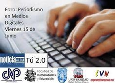 Periodismo en medios digitales, organizado por @Emprendo Venezuela