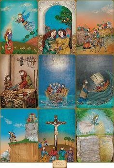 Nerina Canzi Ilustraciones: LA VIDA DE JESÚS (Algunas ilustraciones)