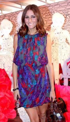 Tibi-Genevieve-Print-Purple-Pink-Watercolor-Silk-Dress-2-w-Olivia-Palermo-Photo