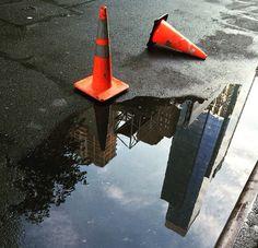 Newyork reflection