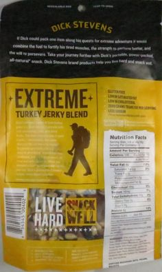 Discover how Dick Stevens - Extreme Blend turkey jerky trail mix fared in a review. http://jerkyingredients.com/2015/08/20/dick-stevens-extreme-blend-turkey-jerky-mix/ @dickstevens1 #dickstevens #turkeyjerky #review #food #jerky #ingredients #jerkyingredients #jerkyreview #beef #paleo #paleofood #snack #protein #snackfood #foodreview #trailmix #nuts #fruit #turkey