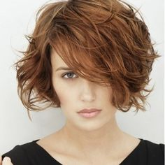 Short Messy Hairstyles Hairstyles For Bobs Thick Hair  Hairstyles  Pinterest  Thicker