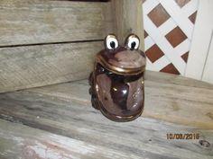 Vintage Redware Brown Drip Glazed Gold Trim Wide Mouth Frog Trinket Soap  Dish Sponge Holder Retro. Retro Kitchen DecorRetro ...
