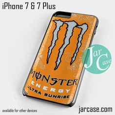 monster energy drink ultra sunshine Phone case for iPhone 7 and 7 Plus
