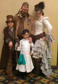 Steam Family - The Steampunk Empire: I love the little Mad Scientist!
