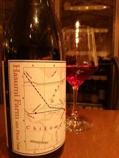 はすみふぁーむ Chikuma River Wine Valley Series Pinot Noir 野生酵母で発酵、オーク樽熟成