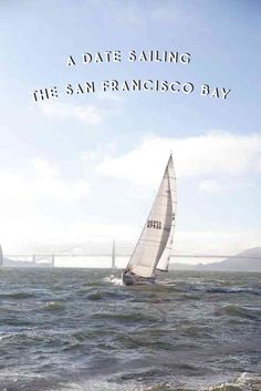Sailing in the San Francisco Bay | Oh Happy Day #howaboutwe