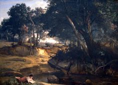 Forest of Fontainebleau - Jean-Baptiste-Camille Corot