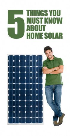 Can Solar Energy Replace Your Dependance On The Power Company? Solar power is a good candidate for anyone thinking about green energy. Solar energy enables you to power your home with sunlight. Solar Energy Panels, Best Solar Panels, New Energy, Save Energy, Power Energy, Alternative Energie, Solar Roof, Solar Projects, Energy Projects