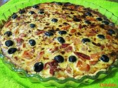 QUICHE ti DE ATUN Vegetable Pizza, Food And Drink, Fish, Vegetables, Breakfast, Quiches, Recipes, Natural, Gastronomia
