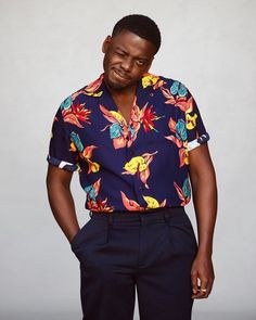 Male Fashion Trends: Daniel Kaluuya shows the definitive spring closet for GQ USA - Black Boys, Black Men, Male Fashion Trends, Mens Fashion, Queer Fashion, Fashion Black, Winter Fashion, Stylish Men, Men Casual