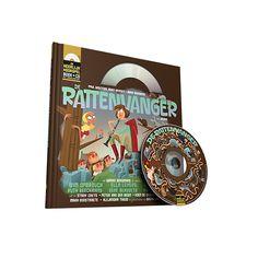 De Rattenvanger is een visionair hoorspel van Het Geluidshuis. Het boek bevat een CD en een downloadcode. Verteld door Warre Borgmans voor kids vanaf 10 j.