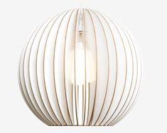 AION wood lamp birch natural