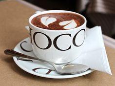 mmm...hot chocolate