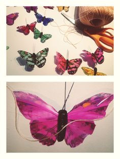 DIY {Butterfly} Party Streamers