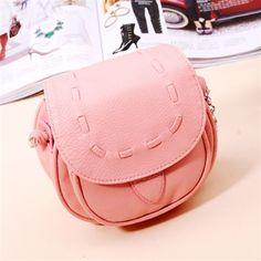 Cute Women Girl Small Leather Handbag Satchel Crossbody Messenger Shoulder Bag