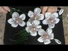 Орхидея из бисера. Мастер - класс. Бисероплетение.