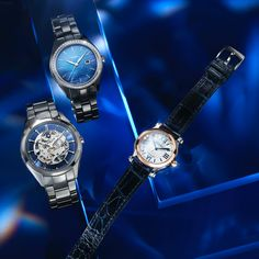Paired with a classic design leads into timeless beauty – discover the iconic Rado Hyperchrome Bucherer BLUE and the joyful Chopard Happy Sport Bucherer BLUE. German English, Certified Pre Owned, Rado, Jewelry Show, Gift Vouchers, Chopard, Timeless Beauty, Joyful, Rolex Watches